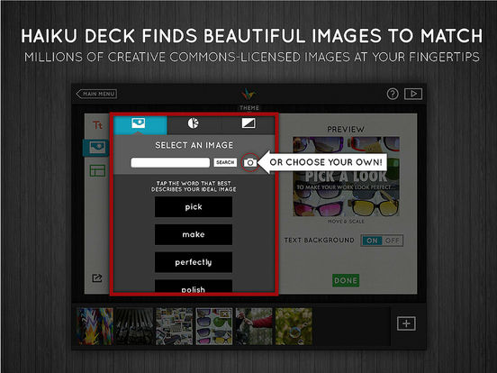 Haiku Deck Presentations and Slideshows Screenshot