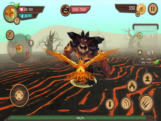 Phoenix Sim 3D - Fantasy Adventuresscreeshot 5