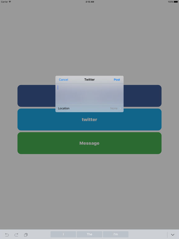 Post Quicker - Easy way to post on Twitter or Facebook Screenshots