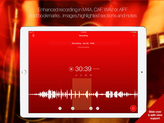Audioholic recorder Screenshots