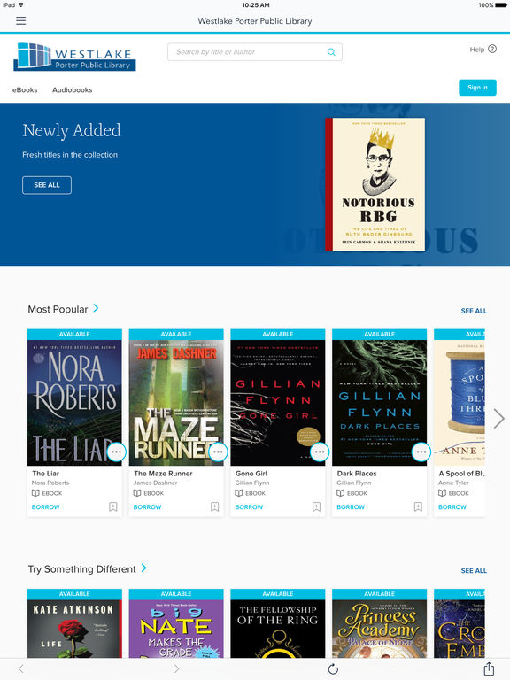 Screenshots for OverDrive – Library eBooks and Audiobooks
