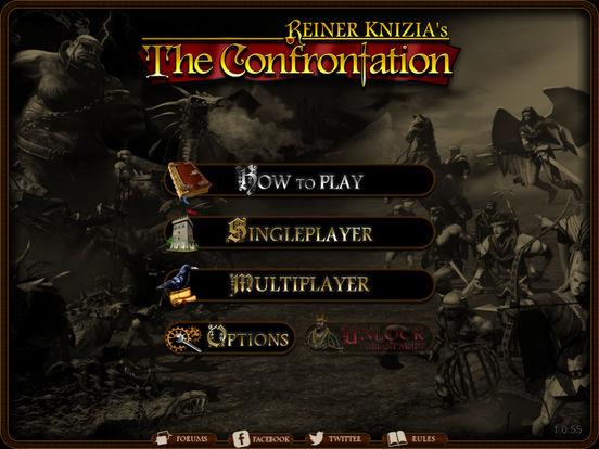 Reiner Knizia's The Confrontation Screenshots