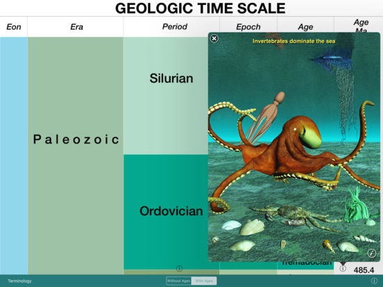 geotimescale enhanced iPad Screenshot 2