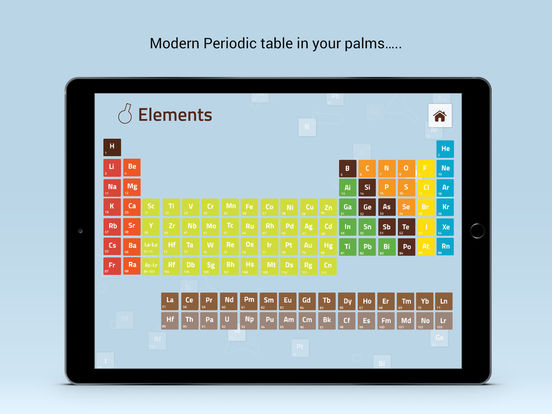 60 Interactive Periodic Table Of Elements Ipad Apps Apps Ipad Table