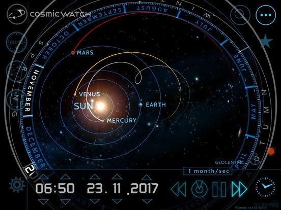 Screenshot #4 for Cosmic-Watch