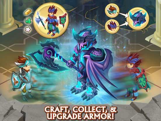 Knights & Dragons: Epic Fantasy Role Playing Game with Monsters, Heroes & PvP Action screenshot