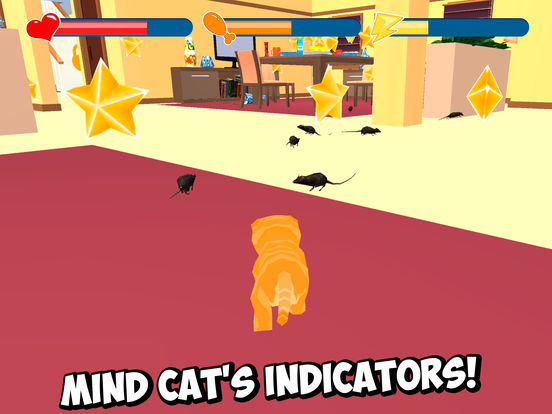 Home Cat Survival Simulator 3D Full Screenshots