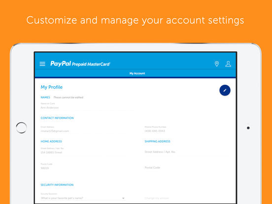 paypal reload locations