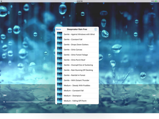 Sleepmaker Rain Free iPad Screenshot 4