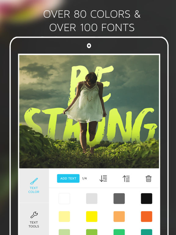 Screenshots of Under Ink - Typography Cover Maker for Wattpad & Movellas for iPad