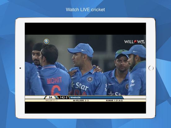 Willow TV iPad Screenshot 1