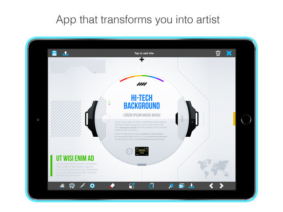 The best logo making apps for iphone apppicker graphic studio logo creator and design maker professional for presentations business cards invitations reheart Choice Image