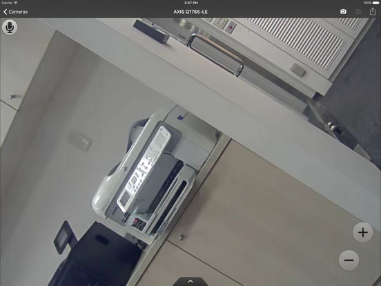 Screenshots of DS cam for iPad