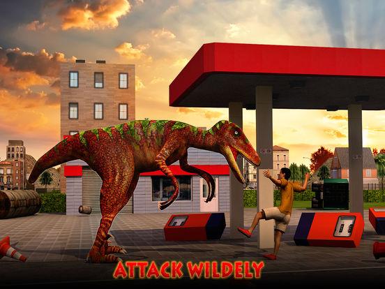 Скачать игру Dino City Rampage 3D
