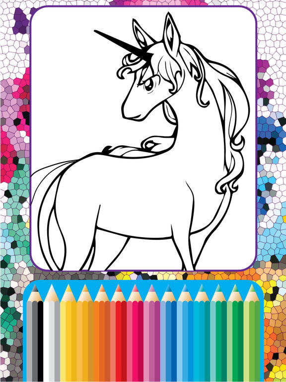 App Shopper My Coloring Pony Pages For Little Equestria