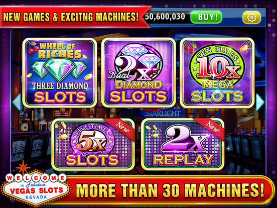 Vegas Slots - Play Las Vegas Casino Slot Machines!screeshot 5