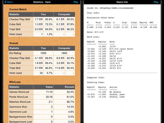 Backgammon NJ HD iPad Screenshot 4