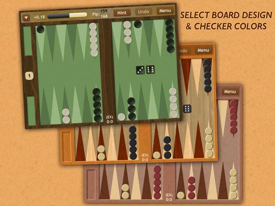 Backgammon NJ HD iPad Screenshot 2