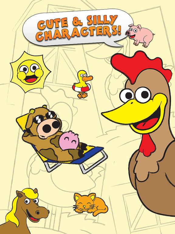 Coloring Farm Animal Coloring Book For Kids Games Screenshots