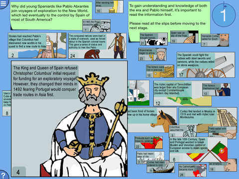 【免費教育App】Digital Mysteries: Spanish Exploration and Conquest (History)-APP點子