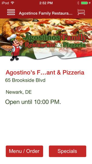 Agostinos Family Restaurant Pizzeria
