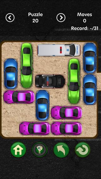 Unblock Police Car - Tiny Garage Puzzle 2016
