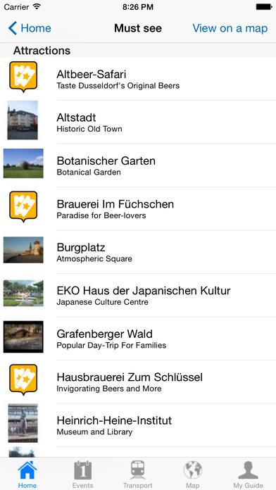 Dusseldorf Travel Guide Offline iPhone Screenshot 4
