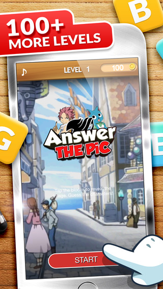 Answers The Pics : Manga Trivia Fairy Tail Photo Reveal Games