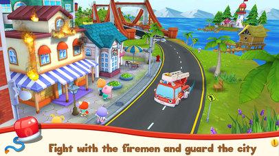Screenshots of Pet Heroes - Fireman for iPhone