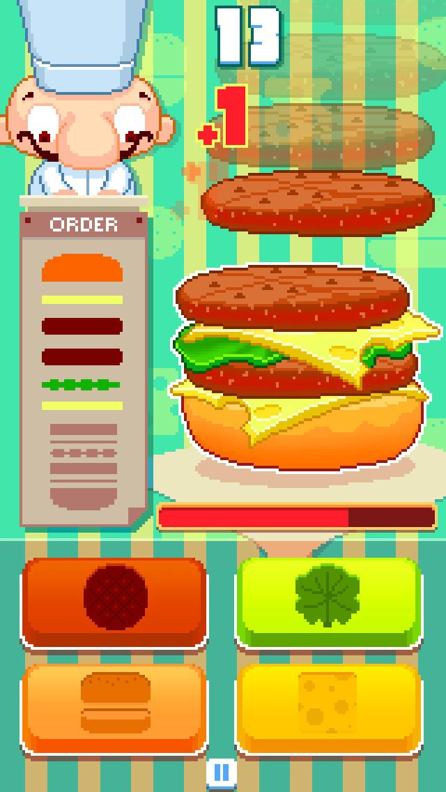 game burger online