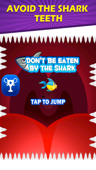 Don't be eaten by the shark - little fish challenge