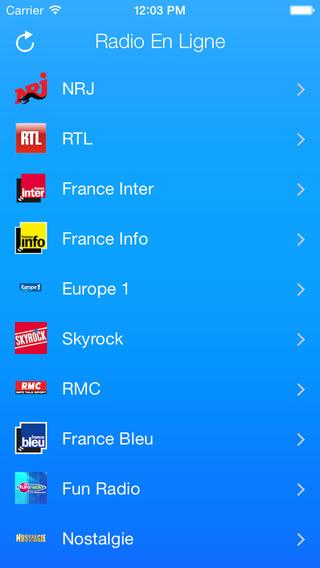 French Radios Online