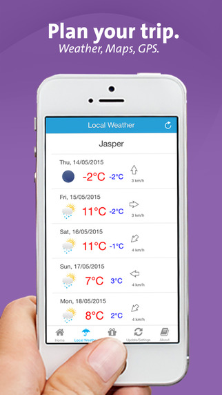 Jasper App – Alberta – Local Business Travel Guide