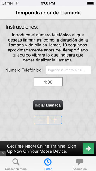 Numeracion de Mexico iPhone Screenshot 3
