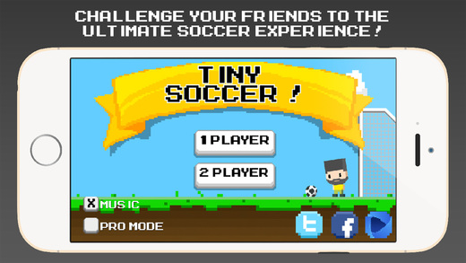 Tiny Soccer - Physics based Football