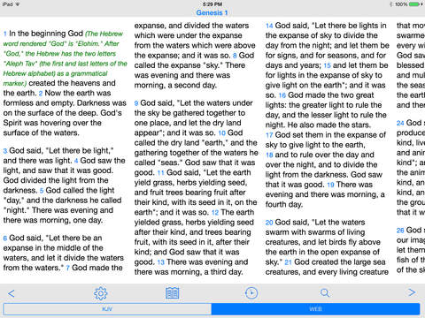 FastBible iPad Screenshot 1
