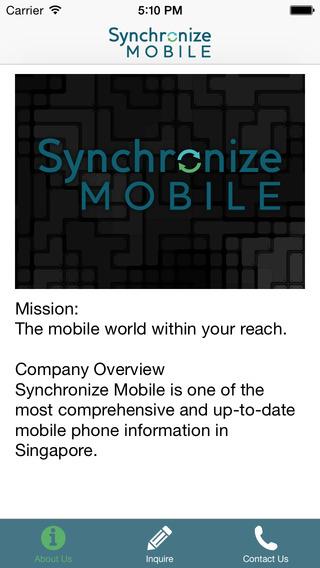 Synchronize Mobile
