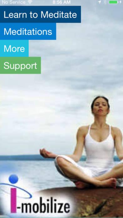 BodyScan Relaxation Meditation iPhone Screenshot 1