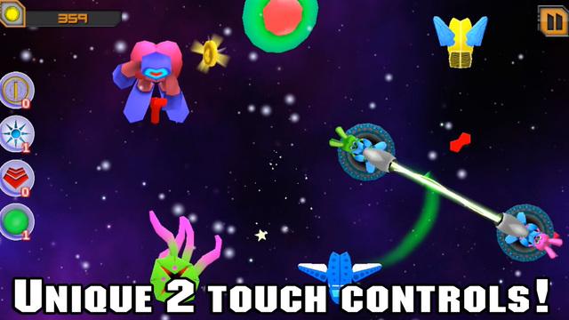 Galaxy Blast 2-Touch Space Adventure Game