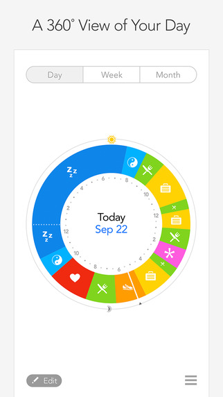 Wellness Planner by Owaves - a fun easy and VISUAL way to plan meals exercise and sleep into your da