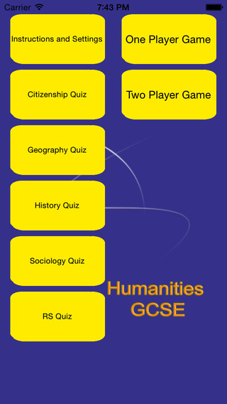 Humanities GCSE