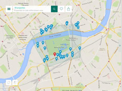 Foxtons Property Search iPad Screenshot 3