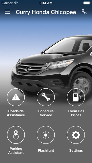 Curry Honda Chicopee DealerApp