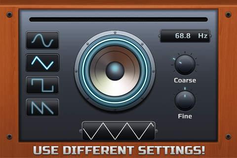 Bass Tester Adv screenshot 1