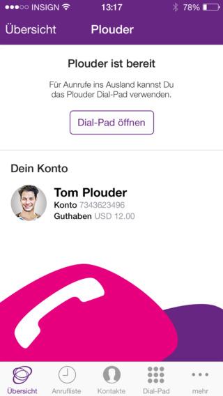 Plouder International Calls