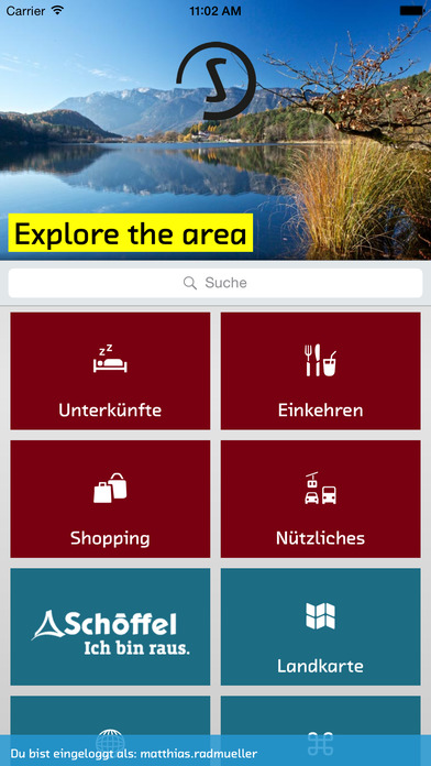 sentres Südtirol iPhone Screenshot 1