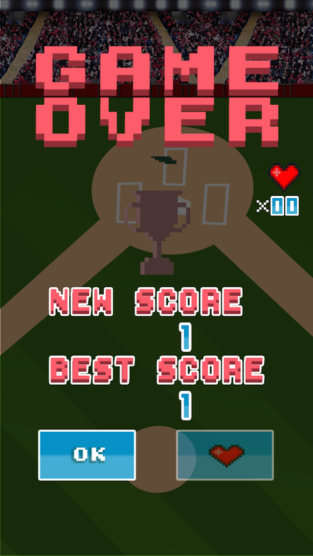 Screenshots of A Tiny Baseball Player - Free 8-Bit Retro Pixel Baseball for iPhone