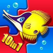 Magic Sorter – Sea Tales – 10 in 1 – to develop important cognitive and fine motor skills [iOS]