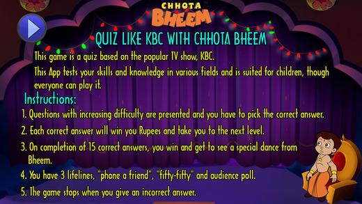 Quiz Like KBC with Bheem