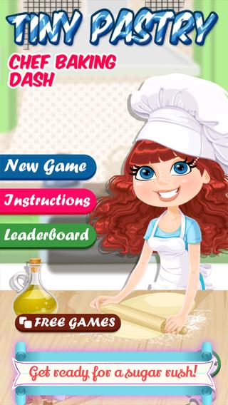 Tiny Pastry Chef Baking Dash - Full Version